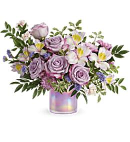 Photo of flowers: Pastel Shimmer Bouquet T19E305