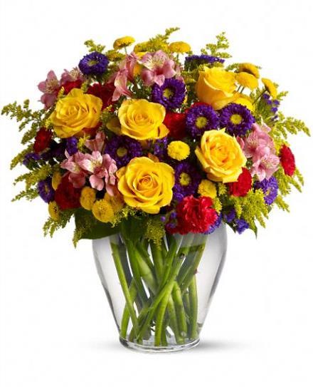 Photo of flowers: Brighten Your Day Vase