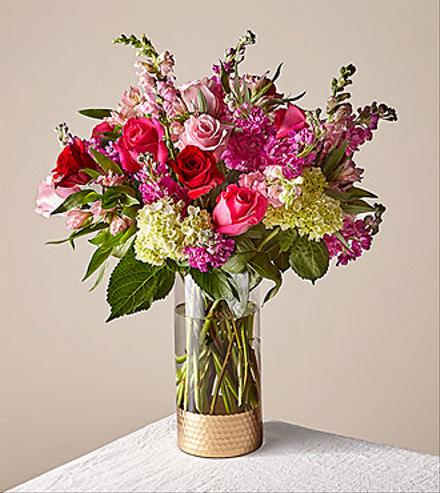 Photo of flowers: Radiantly Rouge Bouquet