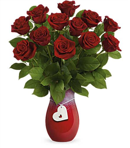 Photo of flowers: Rouge Romance Bouquet