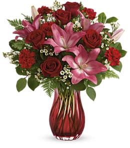 Photo of flowers: Blushing Gemstone Bouquet