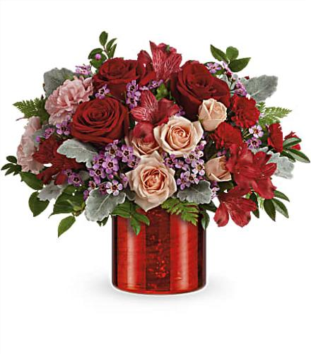 Photo of flowers: Red Hot Love Bouquet