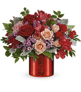 Photo of Jeweled Heart Bouquet V405 - T18V405