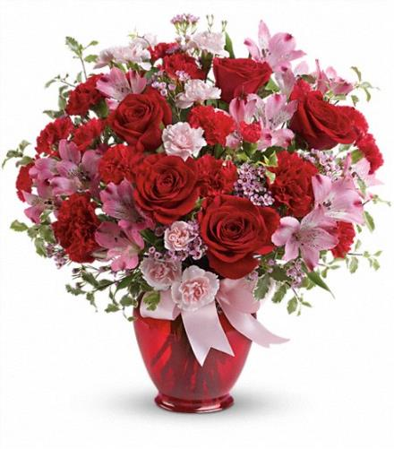 Photo of flowers: Blissfully Yours in Vase