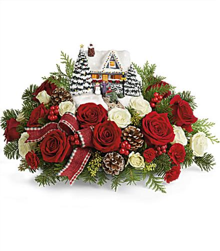 Teleflora Christmas Catalog 2020 Thomas Kinkade's Homecoming Hero 2020   teleflora christmas