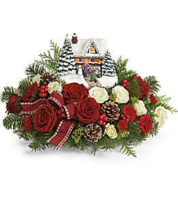 Photo of Thomas Kinkade's Festive Moments Bouquet - T17X205