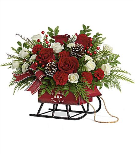 Photo of flowers: Sleigh Bells Bouquet 2020