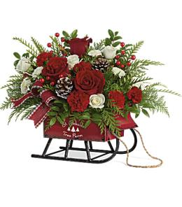 Photo of Vintage Sleigh Bouquet Teleflora - T17X300