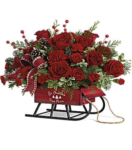 Photo of flowers: Festive Flurries Bouquet