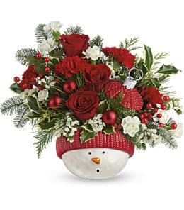 Photo of Classic Pearl Ornament Teleflora - T17X400