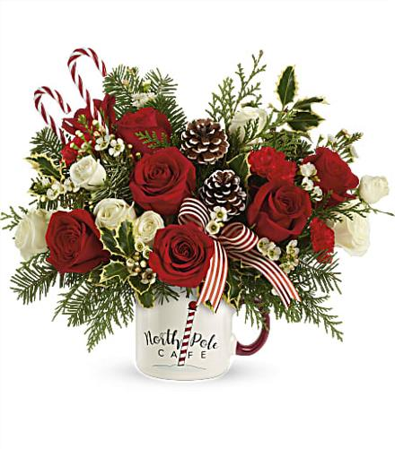 Photo of flowers: Send a Hug Cozy Holiday Mug 2020
