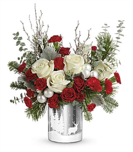 Photo of flowers: T18X605 Wondrous Winterberry Bouquet