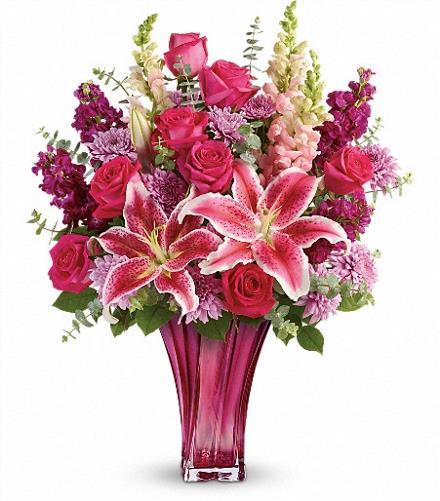 Photo of flowers: Bold Elegance Vase Bouquet Teleflora