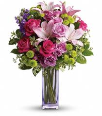 Photo of Fresh Flourish Vase Bouquet  - TEV40-2