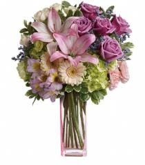 Photo of Artfully Yours Vase Bouquet  - TEV40-1