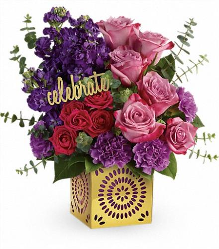 Photo of flowers: Thrilled For You