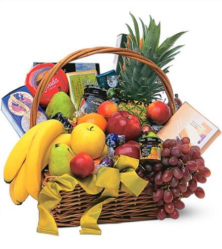 Photo of flowers: Gourmet Fruit Basket