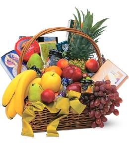 Photo of Gourmet Fruit Basket - TF155-1