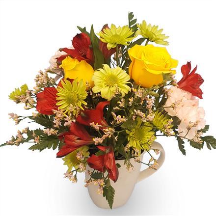 Photo of flowers: Mug of Flowers