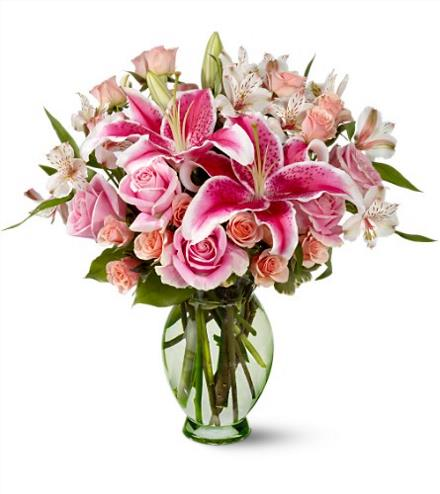 Photo of flowers: Forever More Bouquet Vase