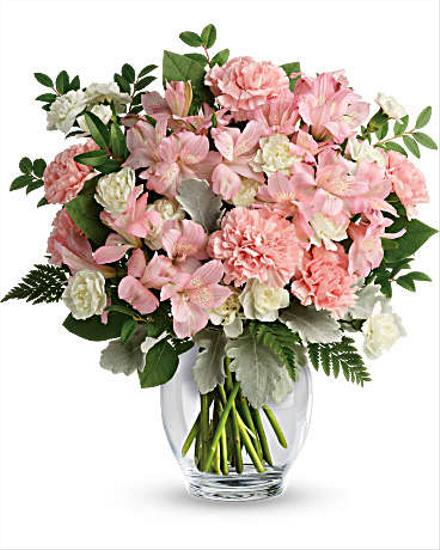Photo of flowers: Whisper Soft Bouquet