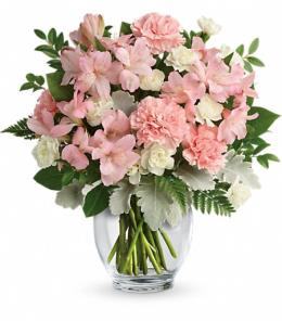 Photo of flowers: Whisper Soft Bouquet TEV55-3