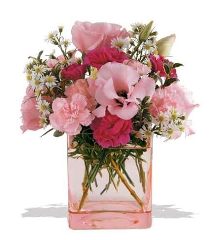 Photo of flowers: Pink Dawn Flower Vase