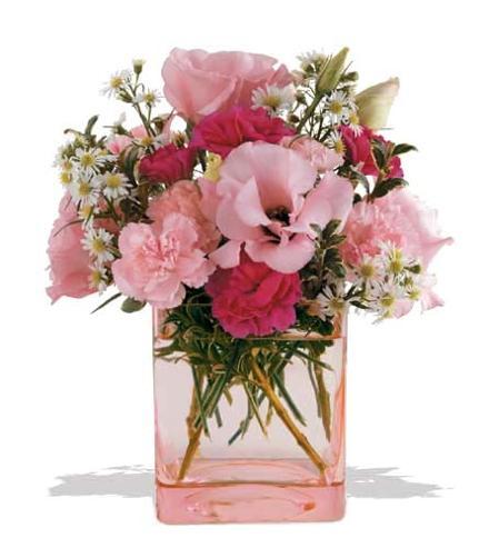 Photo of flowers: Pink Dawn Flower Vase