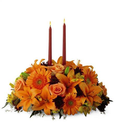 Photo of flowers: Bright Autumn Centerpiece