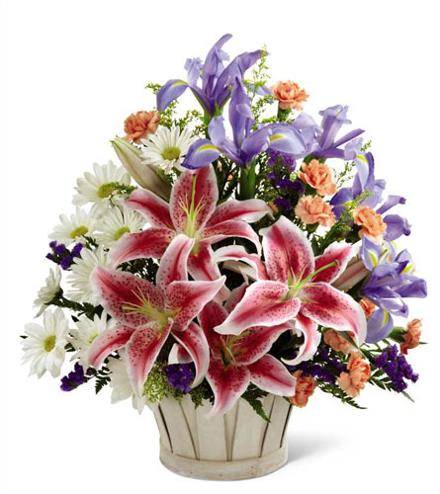Photo of flowers: Wondrous Nature Basket - ORDER EARLY