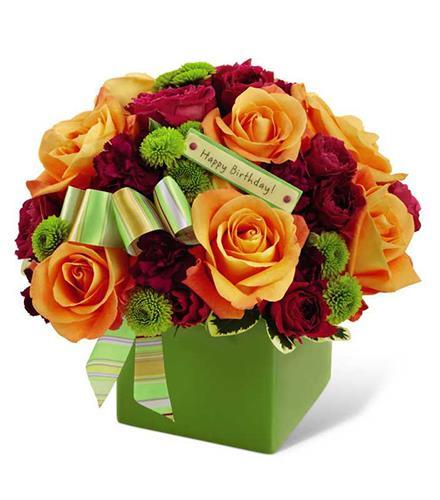 Photo of flowers: Birthday Flowers Bouquet