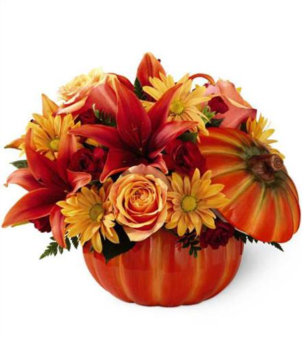 Photo of flowers: Bountiful Pumpkin Bouquet