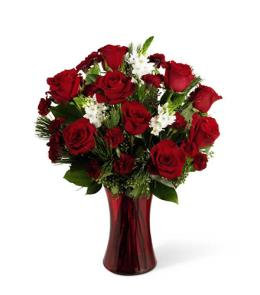 Photo of Holiday Romance Bouquet FTD - B10-4425