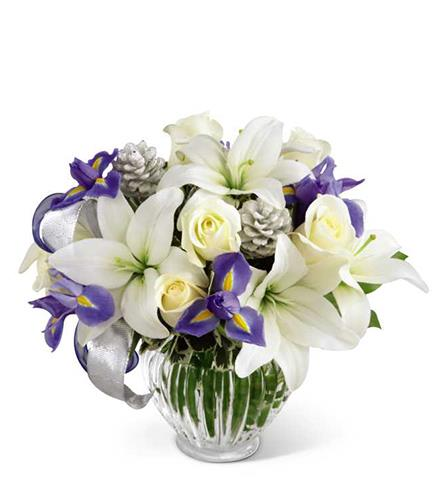 Photo of flowers: Miracle's Light Vase Bouquet