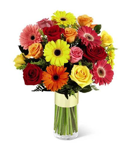 Photo of flowers: Pick-Me-Up Bouquet FTD