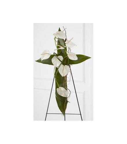 Photo of flowers: Living Cross Easel