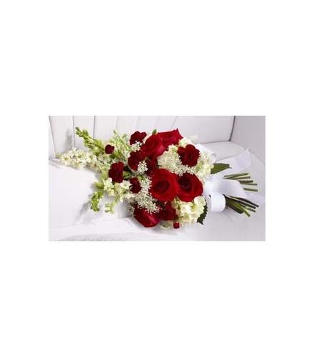 Photo of flowers: Forever in Our Hearts Casket Adornment