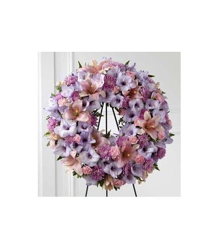 Photo of flowers: Sleep in Peace Wreath