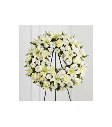 Photo of flowers: Treasured Tribute Wreath