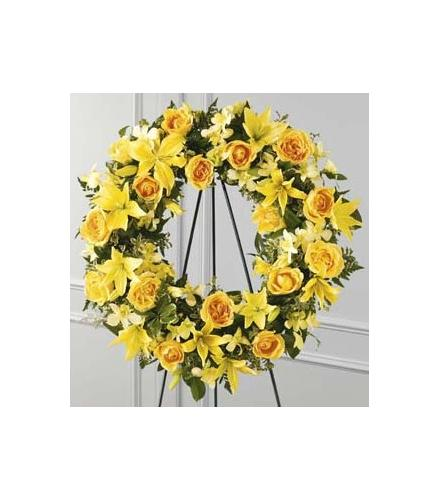 Photo of flowers: Ring of Friendship Wreath
