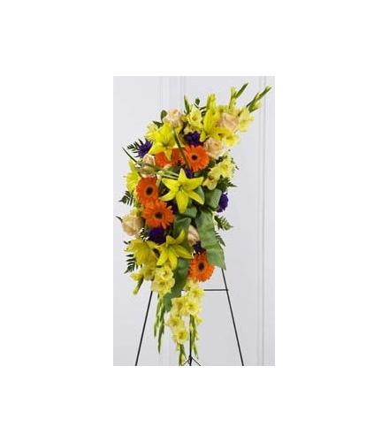 Photo of flowers: Heaven's Light Standing Spray