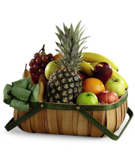 Photo of flowers: The FTD Thoughtful Gesture Fruit Basket