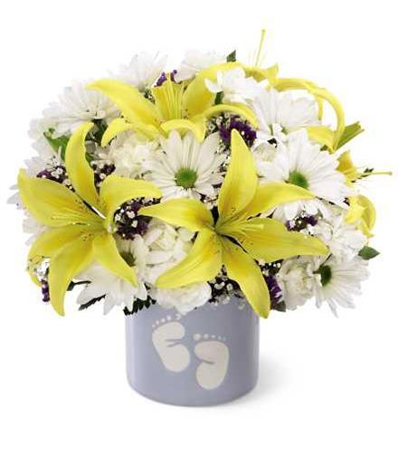 Photo of flowers: Sweet Dreams Bouquet - Boy