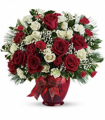 Photo of flowers: Holiday Splendor