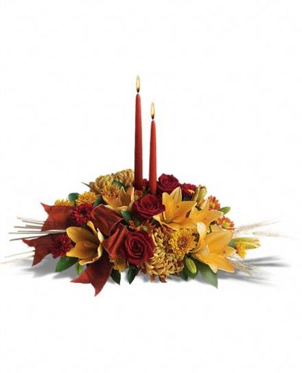 Photo of flowers: Graceful Glow Centerpiece