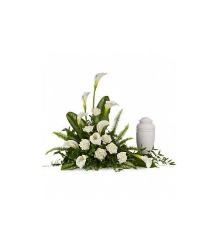 Photo of flowers: Stately Calla Lilies Tribute