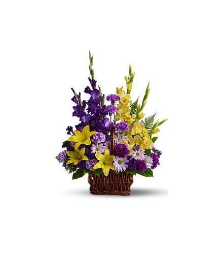 Photo of flowers: Flower Basket of Memories