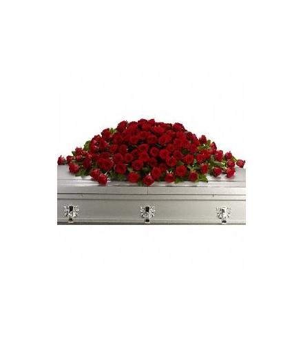 Photo of flowers: Greatest Love Casket Spray