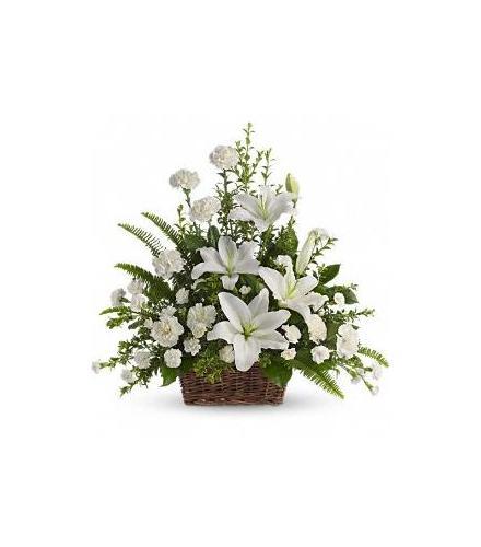 Photo of flowers: Peaceful Flower Basket