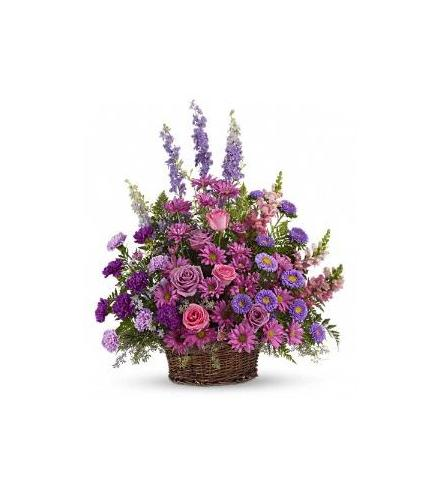 Photo of flowers: Gracious Lavender Basket